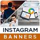 Multipurpose Instagram Templates - 10 Designs - GraphicRiver Item for Sale