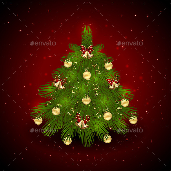 GraphicRiver Christmas Tree 11849476