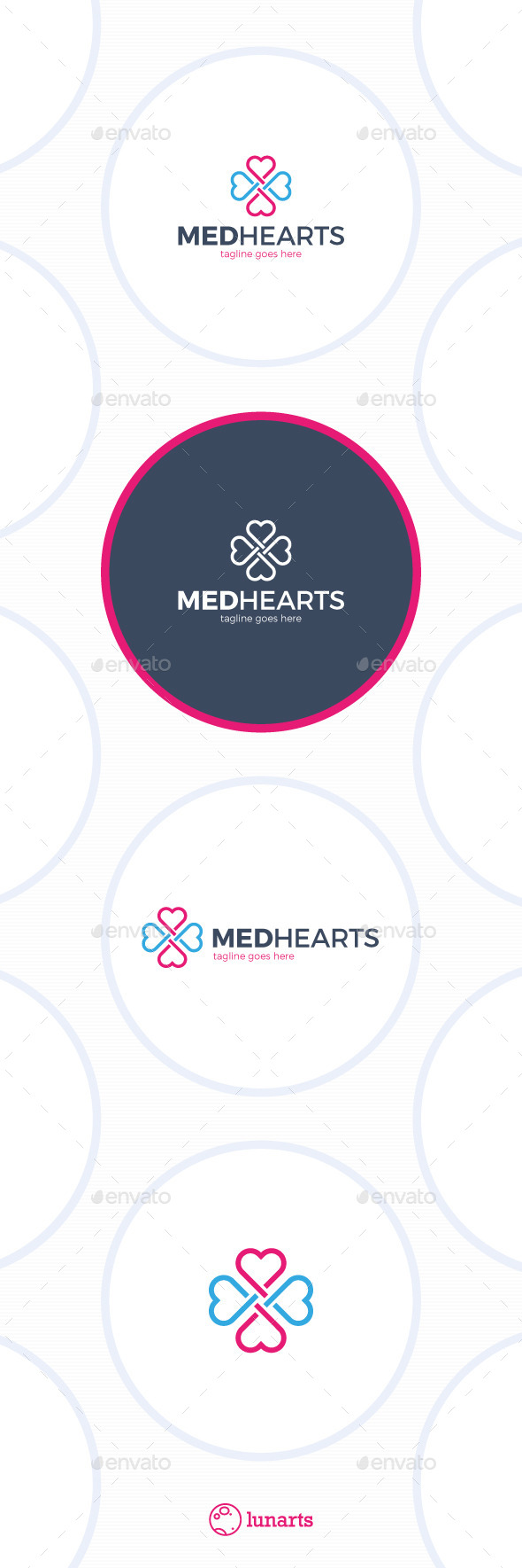 GraphicRiver Medical Cross Heart Logo 11849533