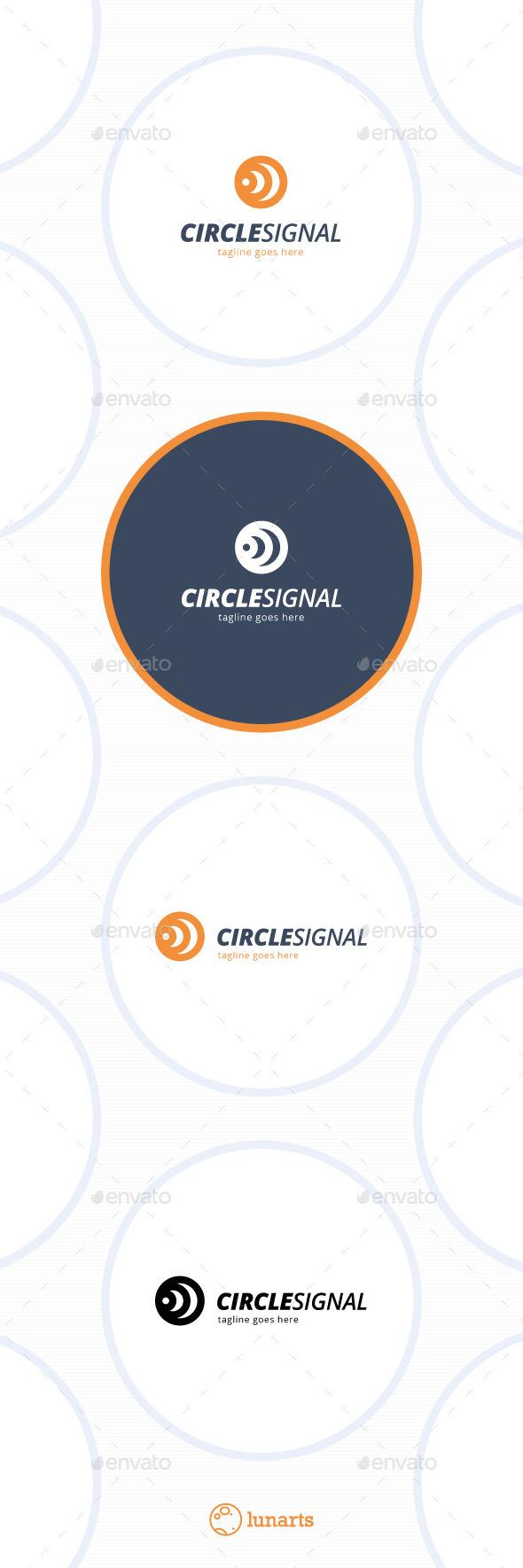 GraphicRiver Three Circle Signal Logo 11849877