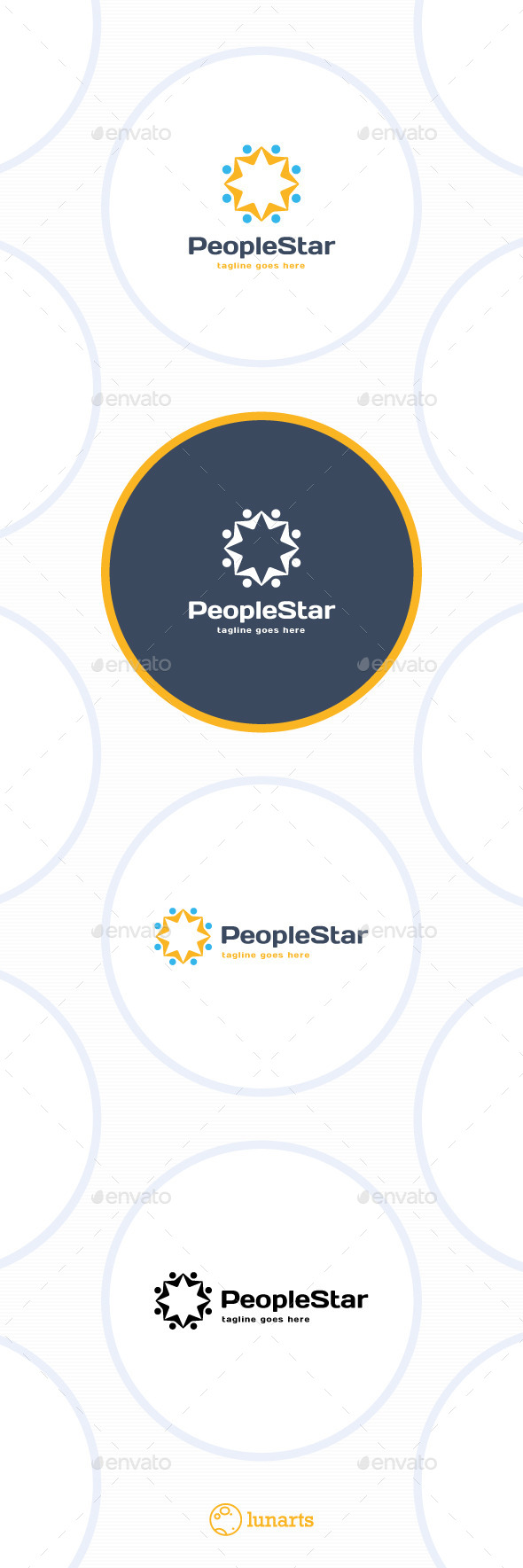GraphicRiver Star Community Logo 11849882
