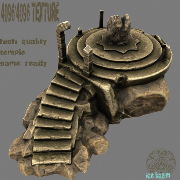 3DOcean Temple 11850201