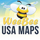 USA 50 States - WeeBee - GraphicRiver Item for Sale