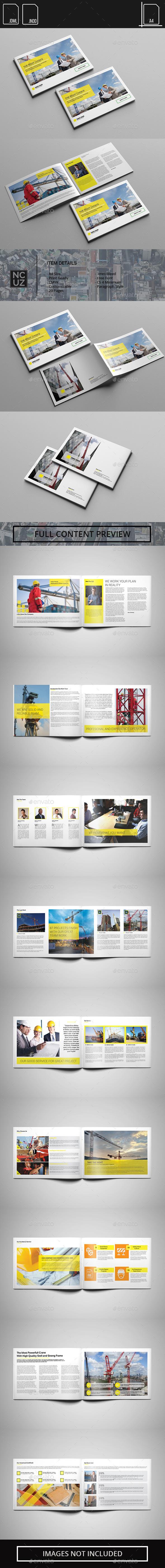 GraphicRiver Brochure Crane Company 11850842