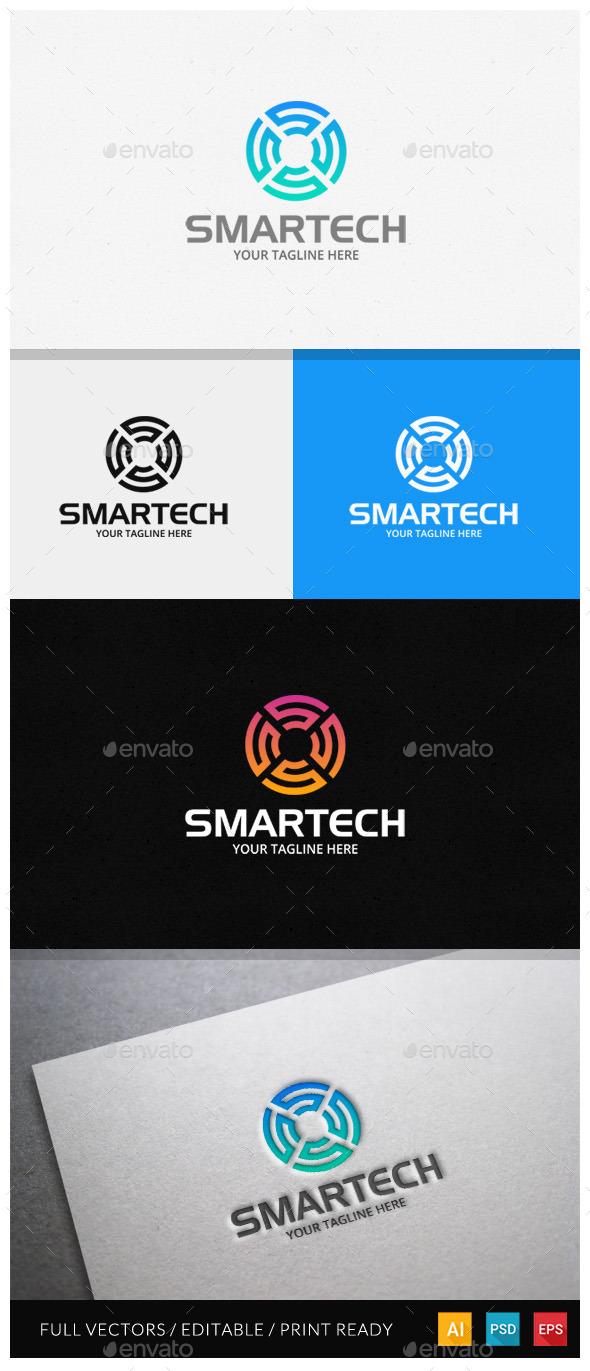 GraphicRiver Smartech Letter S Logo Template 11850966