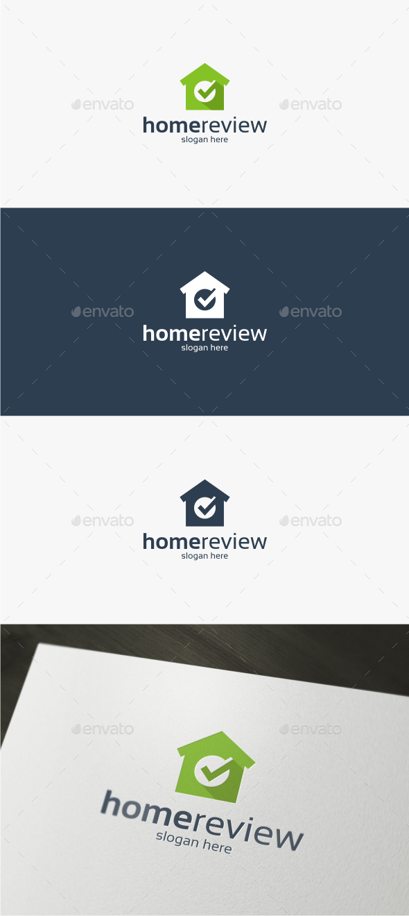 GraphicRiver Home Review Logo Template 11851329