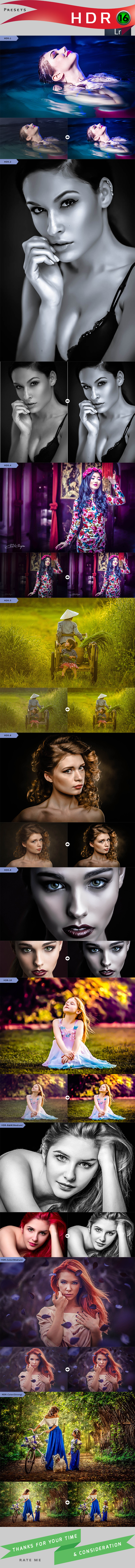 GraphicRiver 16 HDR 11851368