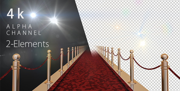 Red Carpet and Flashlights
