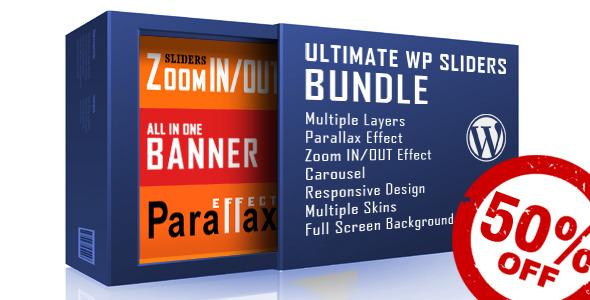 CodeCanyon WordPress Sliders Bundle Layers Parallax Zoom 11825715