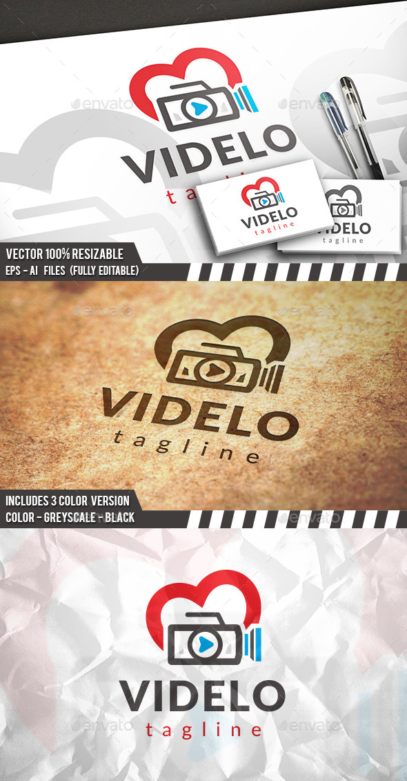 GraphicRiver Video Love Logo 11851987