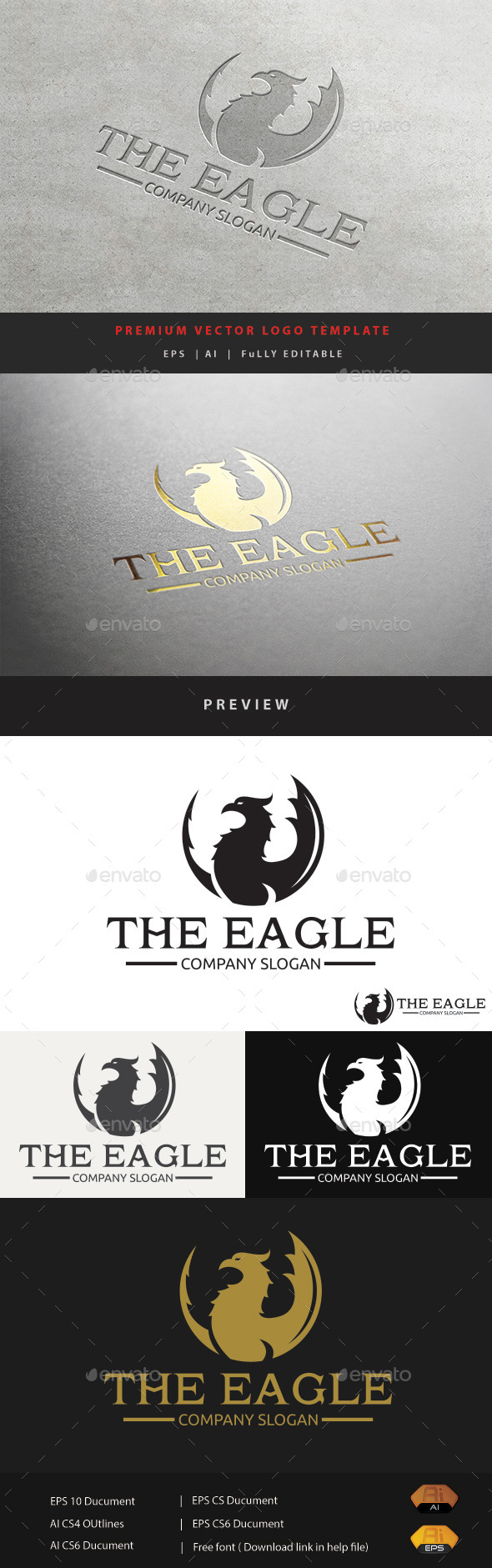 GraphicRiver The Eagle 11852490