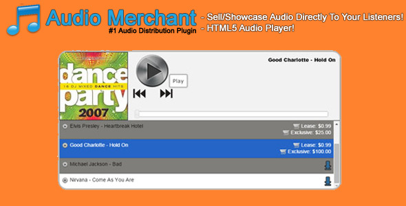 CodeCanyon Audio Merchant 11822463