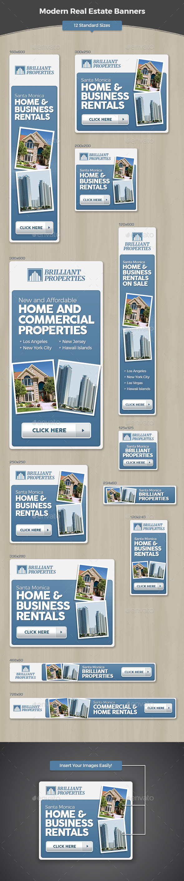 GraphicRiver Modern Real Estate Banners 11845804