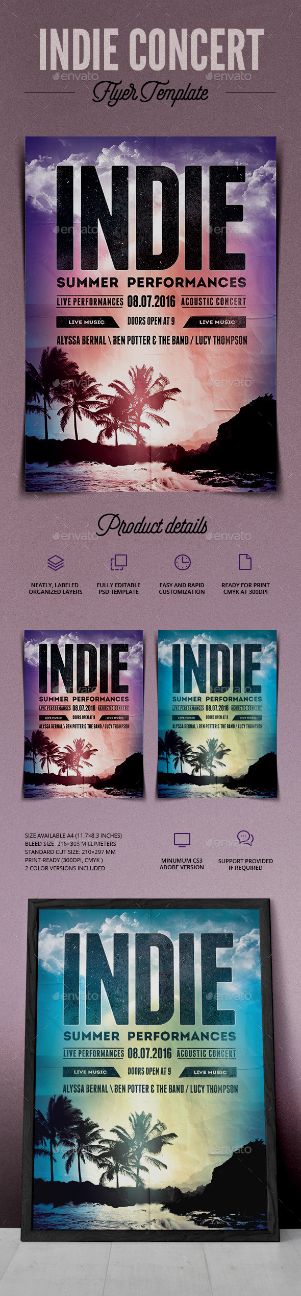 GraphicRiver Indie Summer Event 11854209