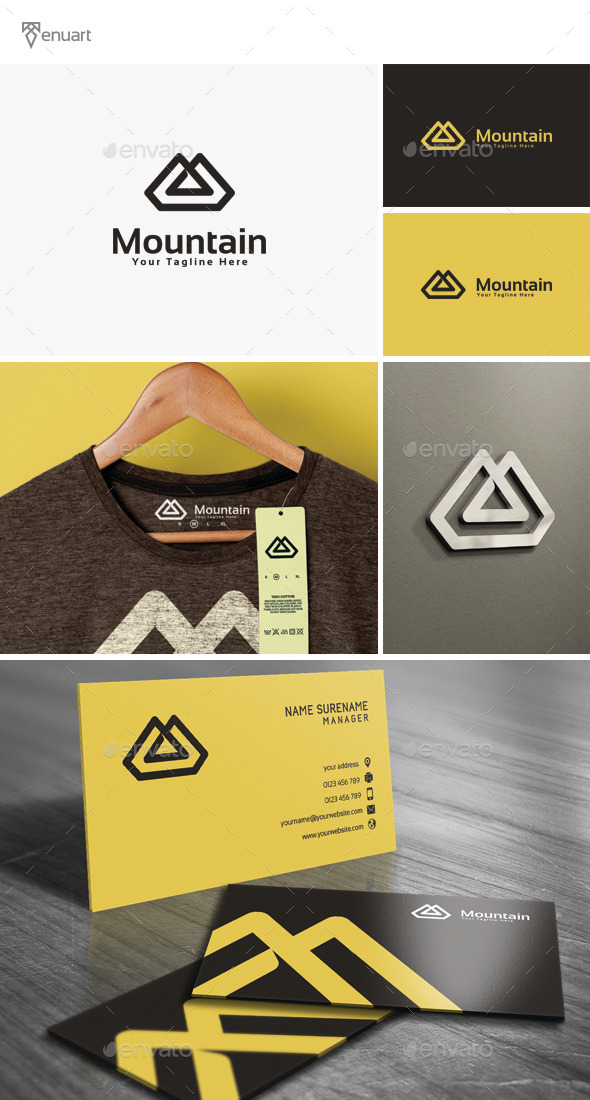 GraphicRiver Mountain Logo 11854328
