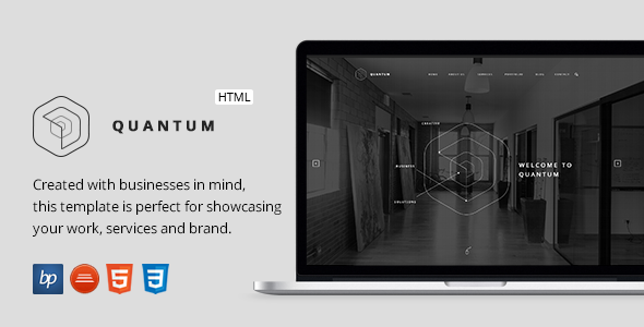 ThemeForest Quantum Responsive Business HTML5 Template 11854788