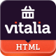 Vitalia - Multipurpose eCommerce HTML Template
