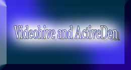 My music on Videohive and ActiveDen