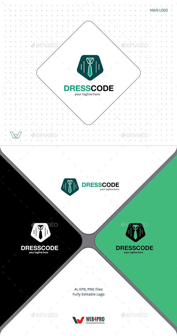 GraphicRiver DressCode Logo 11856007
