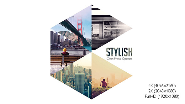 Stylish Photo Openers Logo Reveal