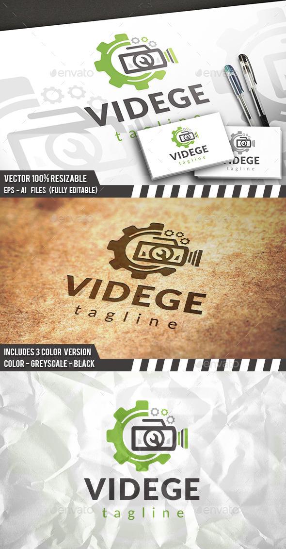 GraphicRiver Video Gear Logo 11856118
