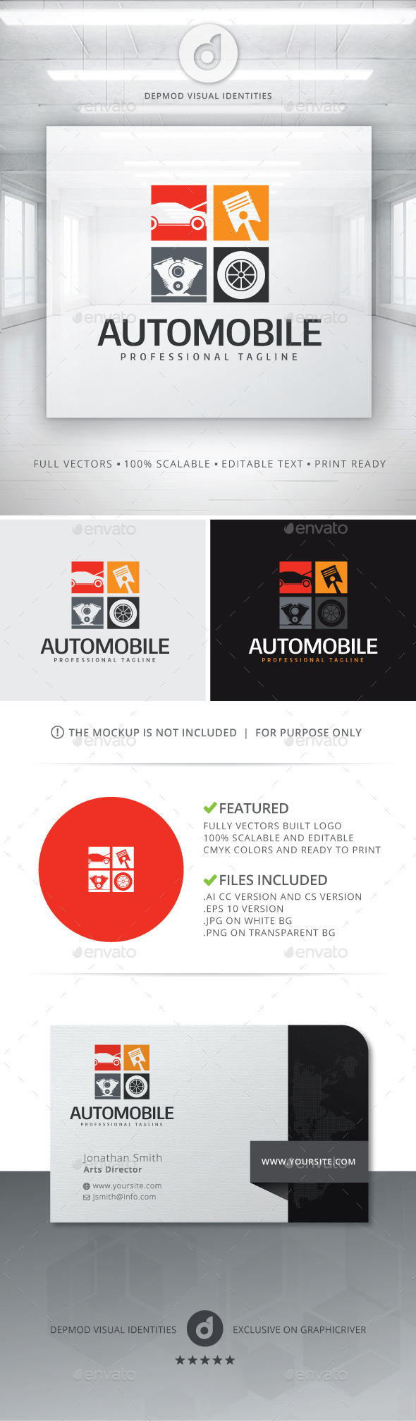 GraphicRiver Automobile Logo 11856626