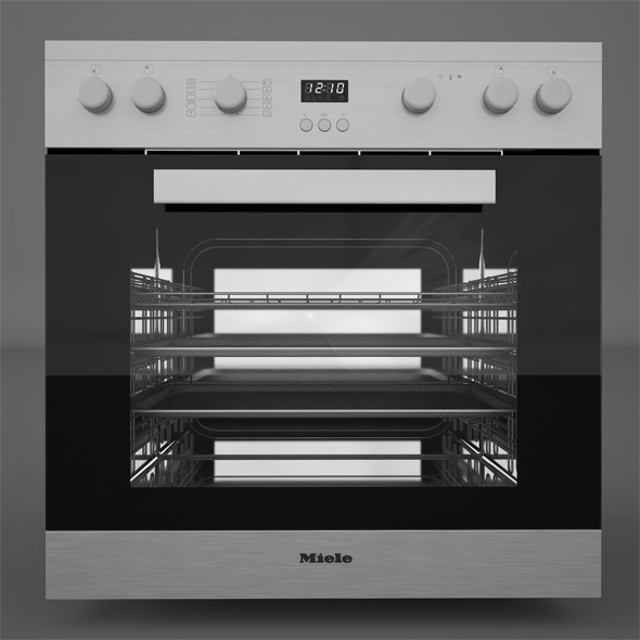 Miele H2261 LST Miele KM6012 - 3DOcean Item for Sale