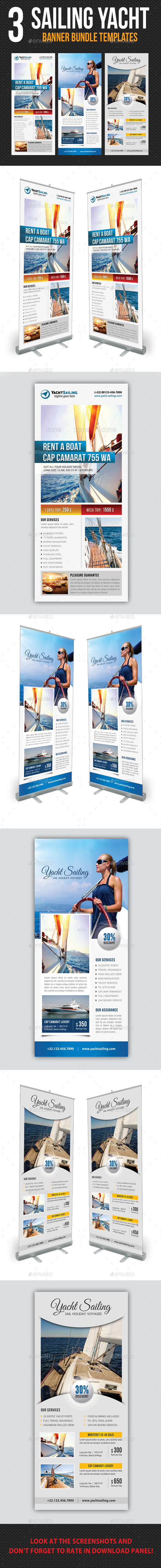 GraphicRiver 3 in 1 Sailing Yacht Banner Bundle 03 11857392