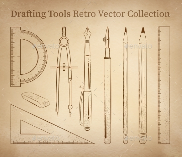 GraphicRiver Drafting Tools 11857504