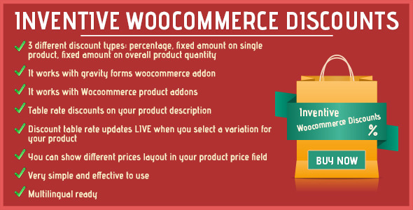 CodeCanyon Inventive woocommerce discounts 11857515
