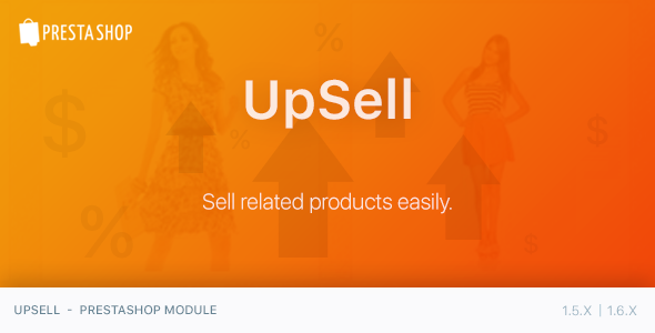 CodeCanyon UpSell PrestaShop Module 11858084