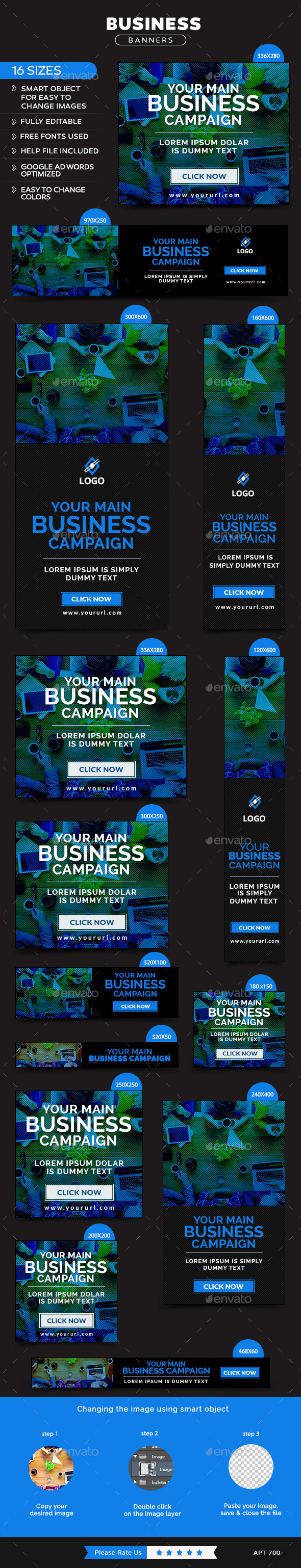 GraphicRiver Business Banners 11858156