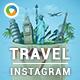 Travel Instagram Templates - 10 Designs - GraphicRiver Item for Sale