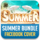 Summer Bundle Facebook Cover - GraphicRiver Item for Sale