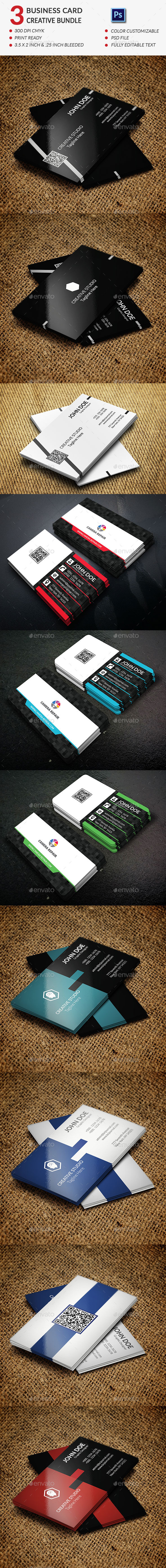 GraphicRiver Creative Business Card Bundle 11848841