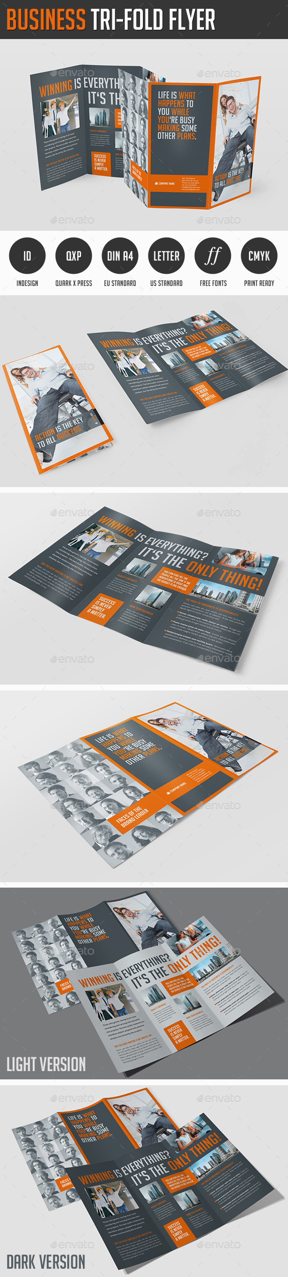 GraphicRiver Business Tri-Fold Flyer 11858815