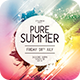Pure Summer Flyer - GraphicRiver Item for Sale