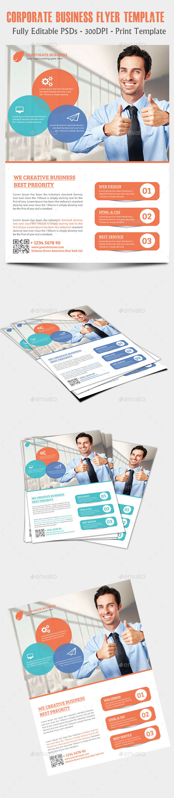 GraphicRiver Creative Business Flyer 11859972