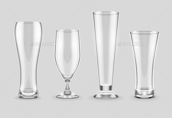 GraphicRiver Glasses for Beer Drinking in Pub 11860286
