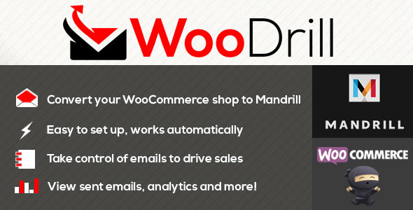 CodeCanyon WooDrill Mandrill For WooCommerce 11860816