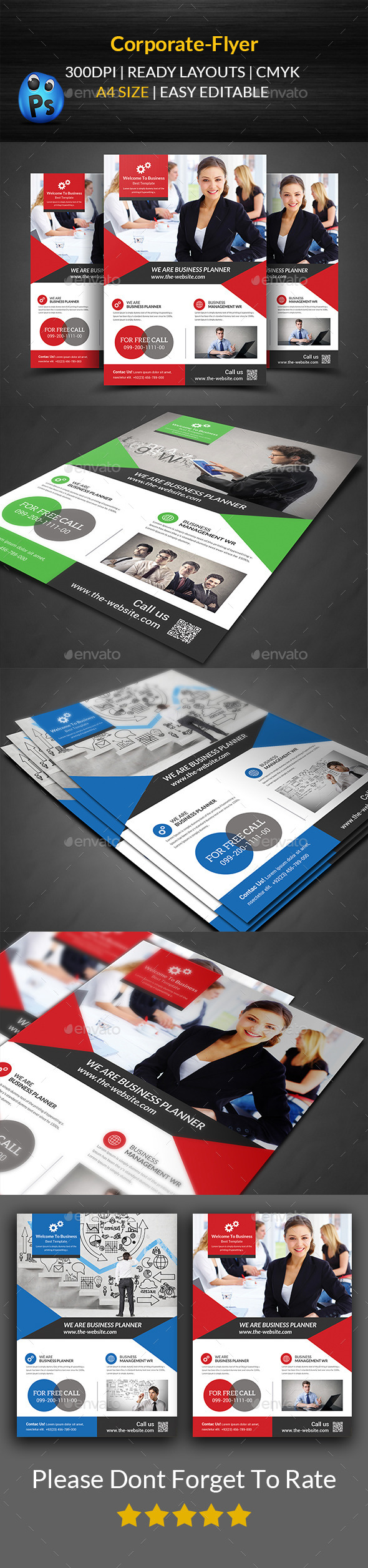 GraphicRiver Corporate Flyer Template 11860830