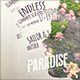 Paradise Summer Poster - GraphicRiver Item for Sale