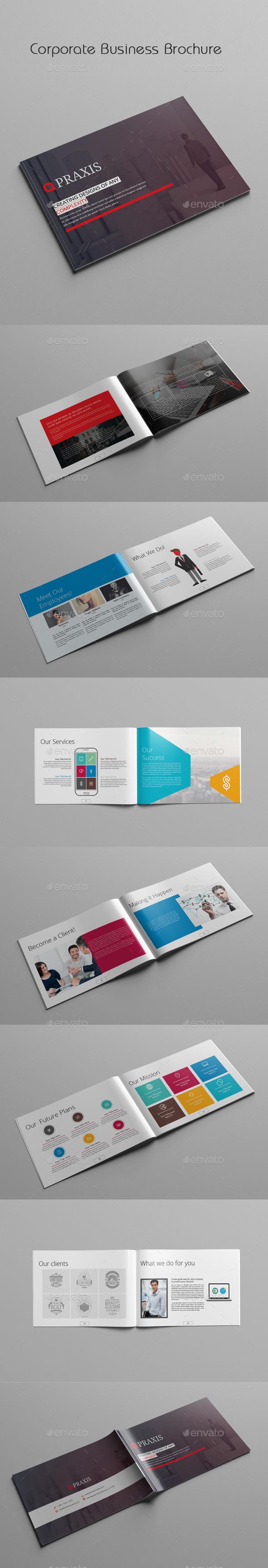 GraphicRiver Corporate Business Brochure 11861464