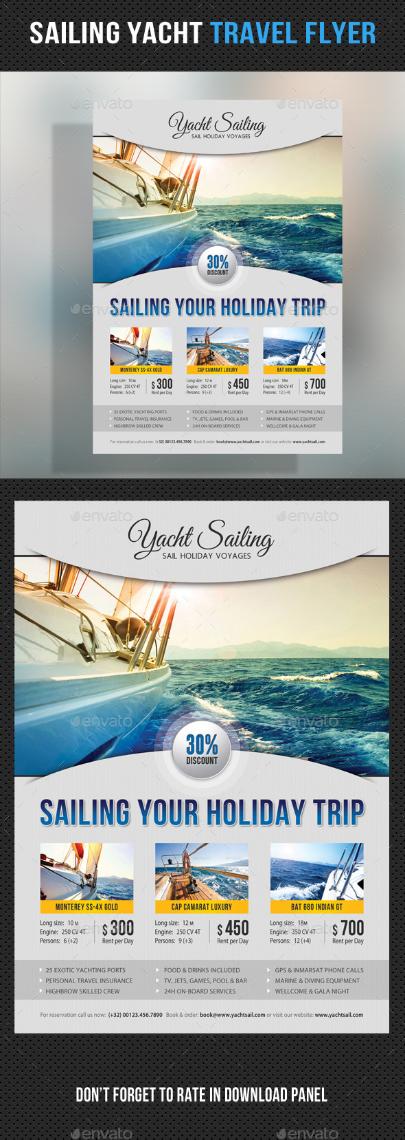 GraphicRiver Sailing Yacht Travel Flyer 07 11861990