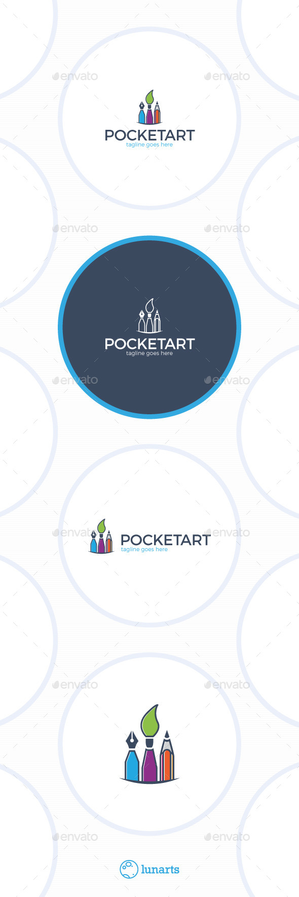 GraphicRiver Pocket Art Logo 11862290
