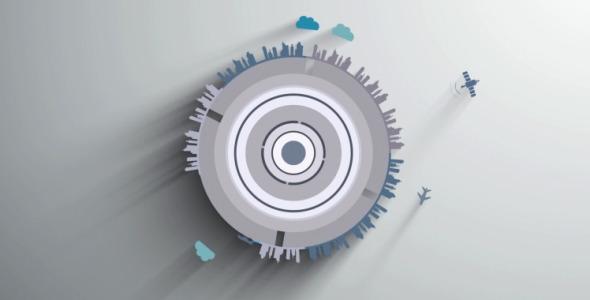 Earth Tech Logo Reveal 4 in 1