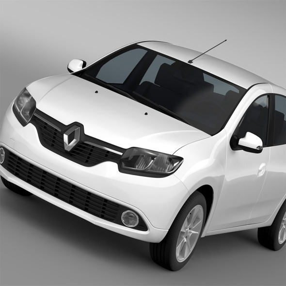 3DOcean Renault Logan 2015 11862429