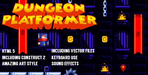 CodeCanyon Dungeon Platformer 11850130