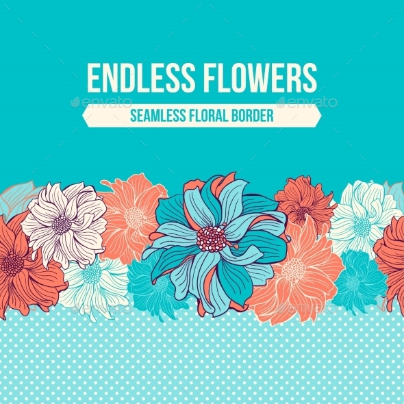 GraphicRiver Hand-drawn Flowers Of Dahlia 11863821
