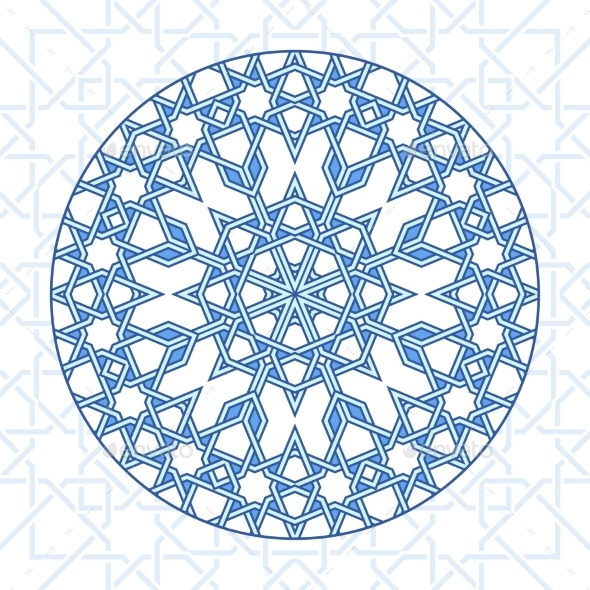 GraphicRiver Intricate Moorish Eastern Pattern 11863888